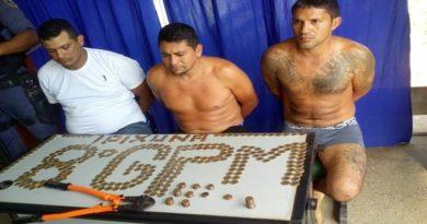 Polícia Militar de Ipixuna-AM prende quadrilha que roubava bancos