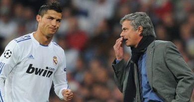 Mourinho não quer Cristiano Ronaldo no Manchester United, diz jornal