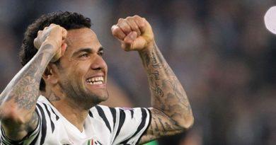 Juventus confirma a rescisão do contrato de Daniel Alves