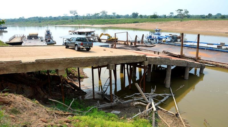 Governo anuncia intervenção emergencial no porto de Cruzeiro do Sul