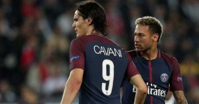 'Não precisamos ser amigos', diz Cavani sobre Neymar