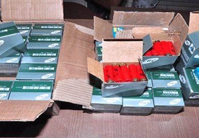 Para o crime: Homem é preso com 47 caixas de munições