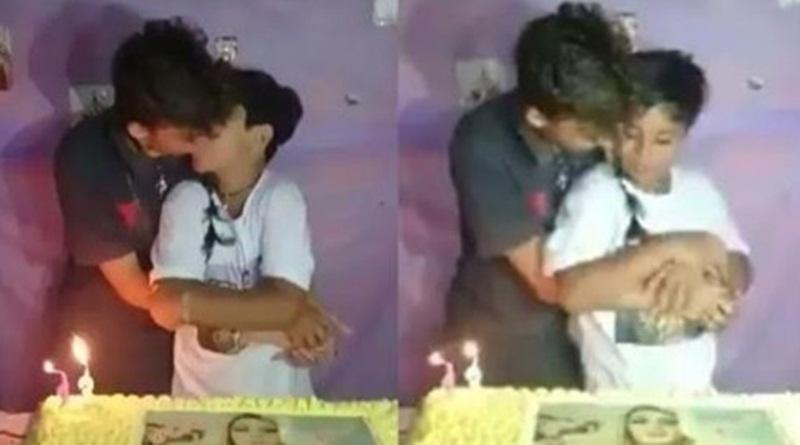 Resultado de imagem para vídeo do menino beijando outro menino em festa de aniversário