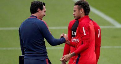 Neymar promete 'lealdade' a Unai Emery, e PSG já descarta Mourinho