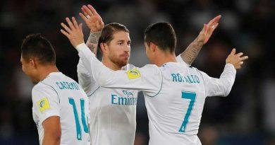 Real Madrid termina ano como líder do ranking da Uefa